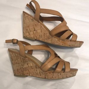 Kelly & Katie wedge sandals